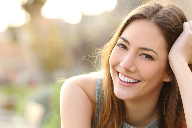 Invisalign Woman Smiling